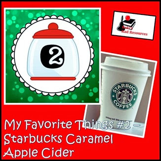 Favorite Things Blog Hop - Teacher Blogs - Caramel Apple Cider