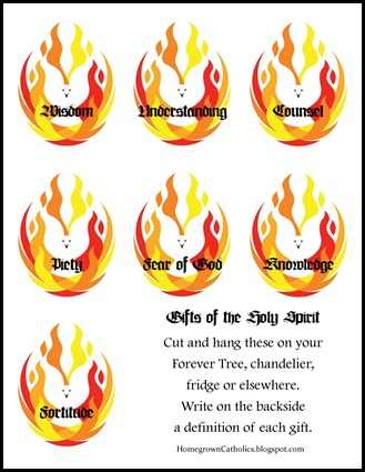 8 Words to Describe the Holy Spirit Worksheet - That Resource Site
