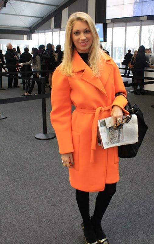 NYFW-street-style-neon-orange-Joe-Fresh-coat-Whats-Haute