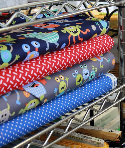 Monster Mash fabrics by Michael Miller found at The Fabric Mill