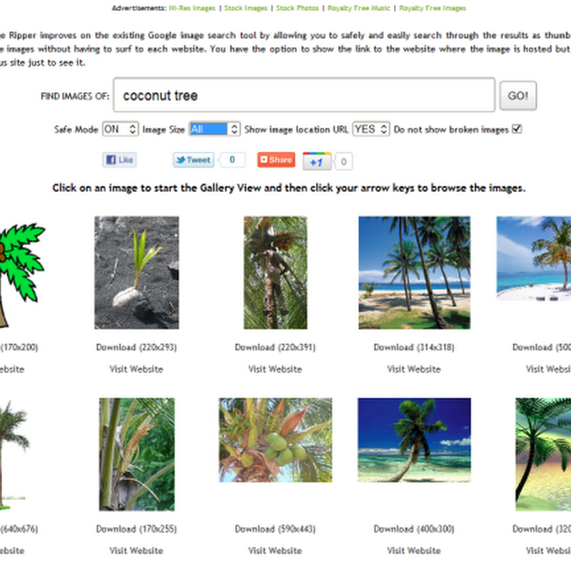 Google Image Ripper Lets You Easily Download Images from Search Results