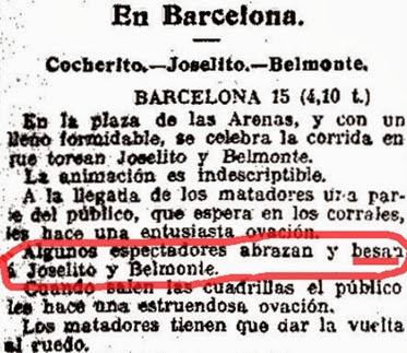 1914-03-15 (EH) Algunos besan a los toreros