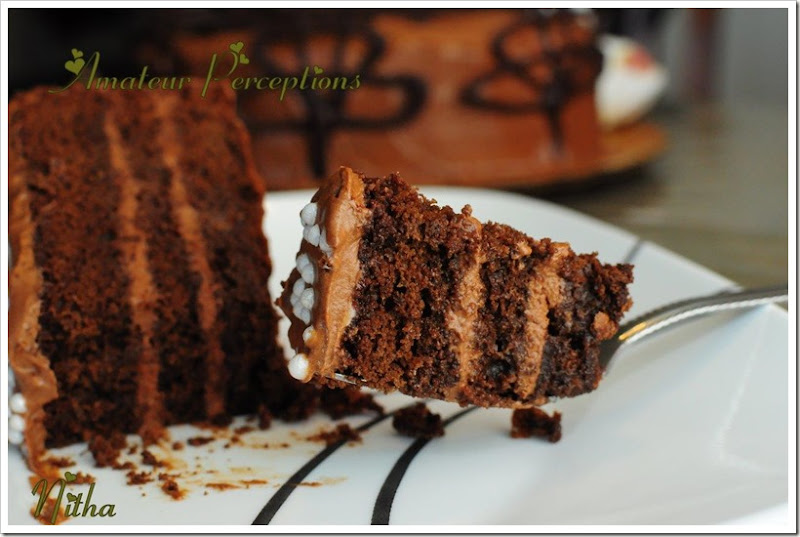 Chocolate Mousse Cake 9