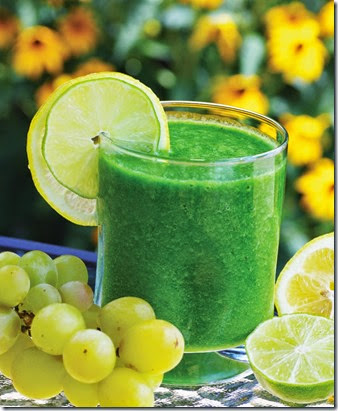 Lemon-Lime Green Smoothie Photo