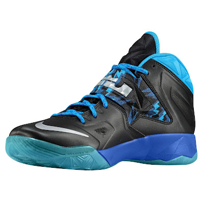 nike zoom soldier 7 gr black blue hero 1 01 eastbay LEBRONs Nike Zoom Soldier VII $135 Pack Available at Eastbay