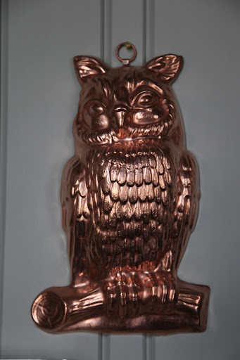 Francesca, what do you suppose this beautiful mold is used for?  Owl mousse?  I hope not!