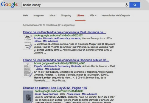 Google Books Genealogía