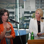 Amy Grant and Shauna Lake&#xA;at Q&amp;A VIP Reception