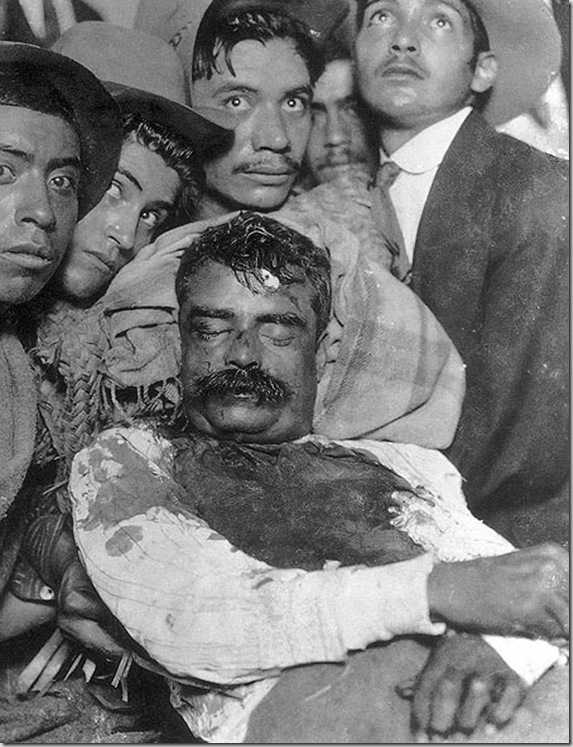 Assasination of Emiliano Zapata - April 10, 1919