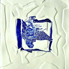 Linogravure et gaufrage 20x20cm - Copie