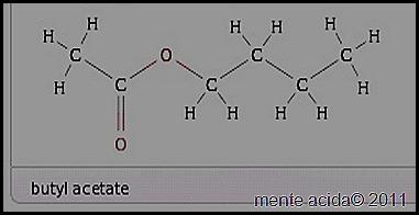 acetato de butilo
