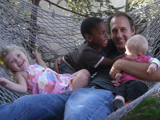 mark and kids