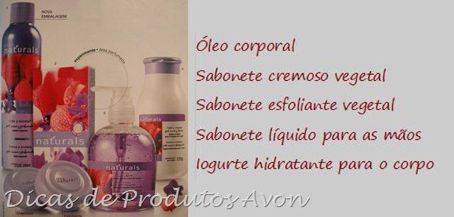 Novos produtos Naturals Lichia e Violeta