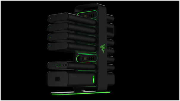 Razer shows off their new uber-modular gaming PC