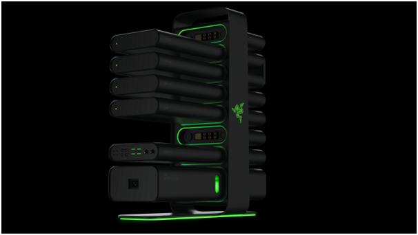 Razer shows off their new uber-modular gaming PC