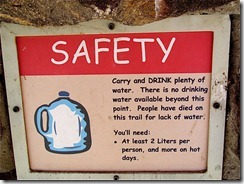 safety hiking sign 2
