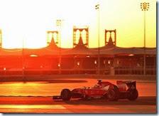 Alonso nei test in Bahrain 2014