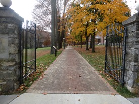 Storer College Entrance