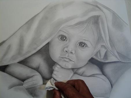 desenho de crianças a lápis 13