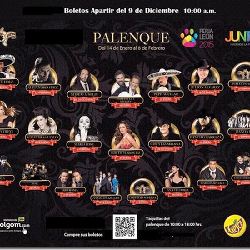 Palenque Feria de Leon 2015