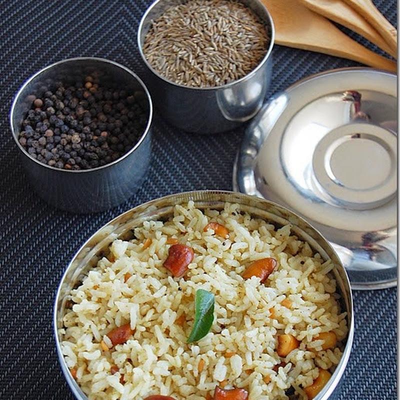 Samba sadham / samba rice