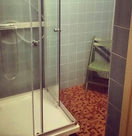 duschrum efter