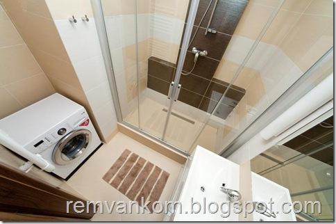 комплексный ремонт ванной комнаты 8