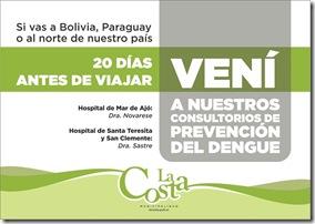 El municipio renueva medidas de prevención contra el dengue