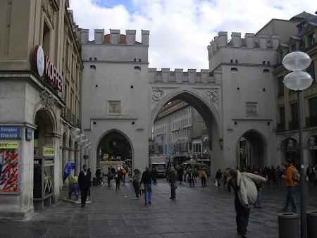 Obiective turistice Munchen: intrarea in orasul vechi