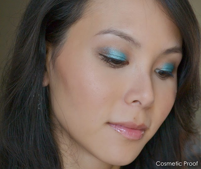 Essence Cosmetics Metal Glam Makeup Look(2)