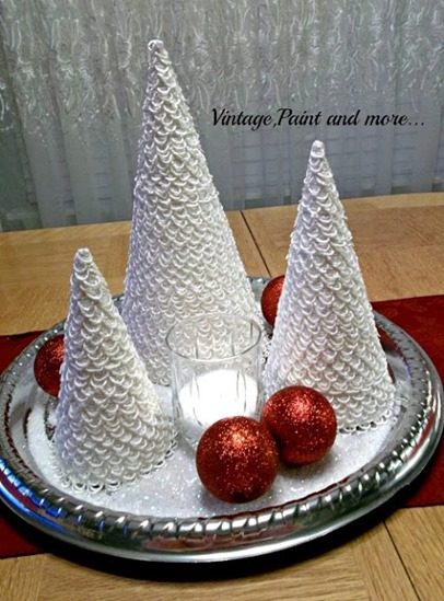 Handmade Christmas Trees by Vintage Paint and More