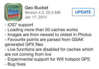 GeoBucket version 4.3