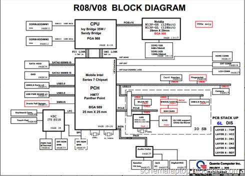 schemalaptop laptop schematics dell vostro 3460 inspiron n5420 quanta r08 v08 laptop motherboard schematics