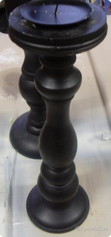 Black Candle Sticks