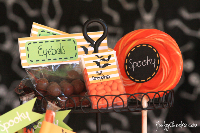 Free Halloween Party Printables by poofycheeks.com