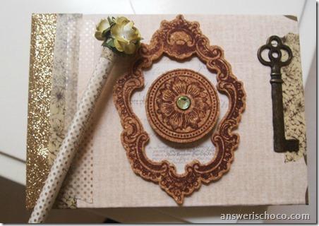Handmade Guest Book and Pen