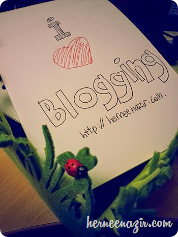 Cabaran 30 Hari Blogging Day 30 Kenapa Saya Suka Tulis Blog