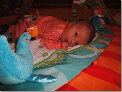 1.  More tummy time
