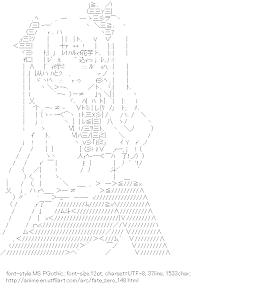 [AA]Tosaka Rin (Fate/zero)