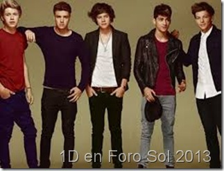 one direction en Foro sol reventa de boletos zona platino 2013