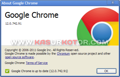 Download Google Chrome 12.0.742.91 Terbaru [Stable] Juni 2011