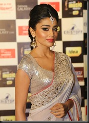 Shriya Saran @ Mirchi Music Awards 2013 (South) Photos