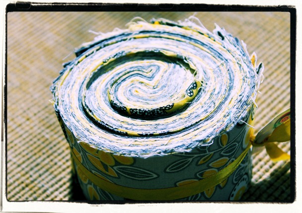 jellyroll fabric diy