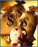 Мешки с наличными деньгами