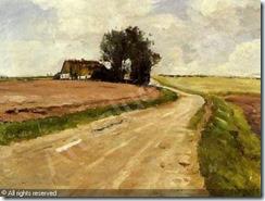 gottschalk-albert-1866-1906-de-landevej-i-nordsjaelland-916367