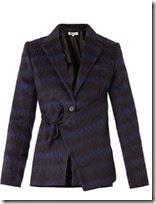 Kenzo Neon Plaid Textured Jacket
