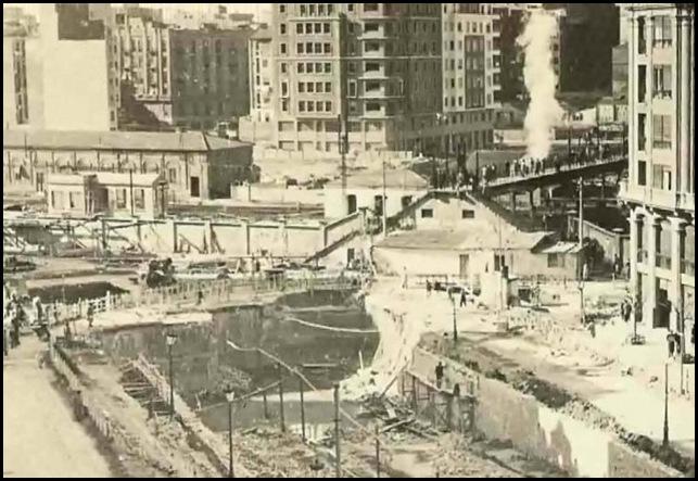 tunel grandes vias Ca 1959