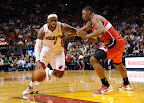 lebron james nba 130106 mia vs was 03 King James Debuts LBJ X Portland PE But Ends Scoring Streak