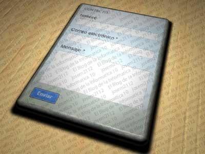Formulario de contacto en Blogger  - imagen principal del post