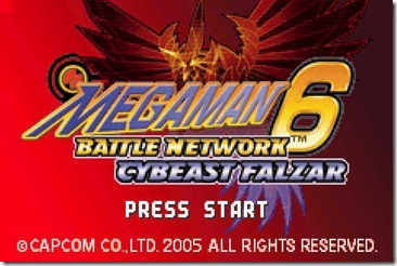 Download GBA Megaman Battle Network 6 Cybeast Falzar English for PC (Emulator + Rom)